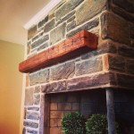 Beck – Barn Beam Mantel