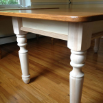 Gray – Oak Dining Table