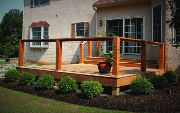 Exotic Hardwood Deck