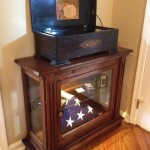 Perkins - Walnut Display Cabinet