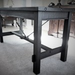 Nolan – Black Walnut Table