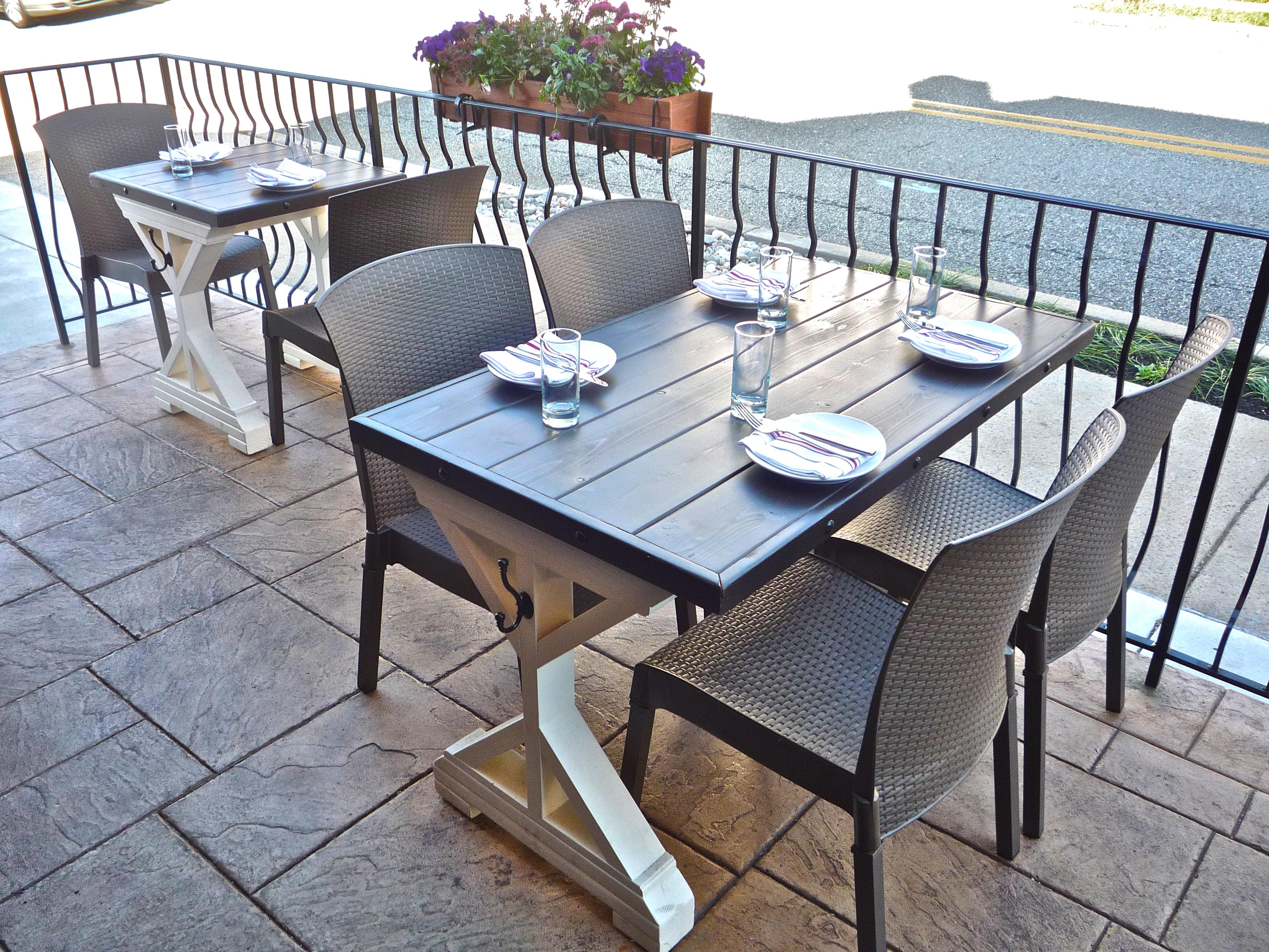 Painting Old Teak Outdoor Furniture Modern Patio Outdoor