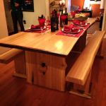 Manny – Live-Edge Poplar Dining Table