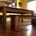 Szatkowski – Reclaimed Oak Dining Table