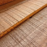 Raw Materials: African Ribbon-Striped Mahogany in the rough.