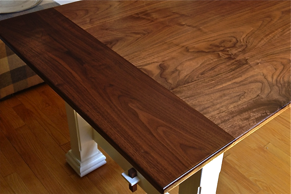 Finishing Black Walnut Table Top Brokeasshome Com