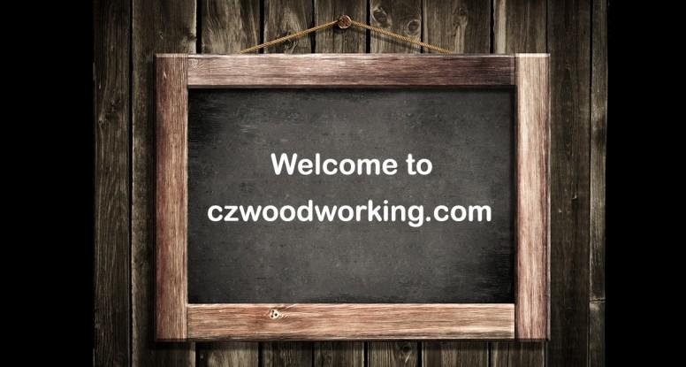 CZ Woodworking Chalkboard