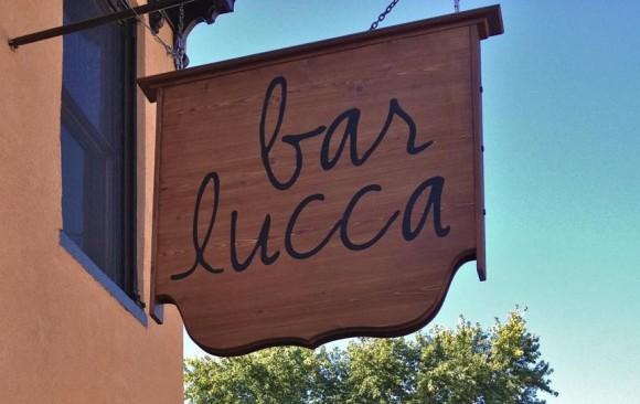 Bar Lucca Sign