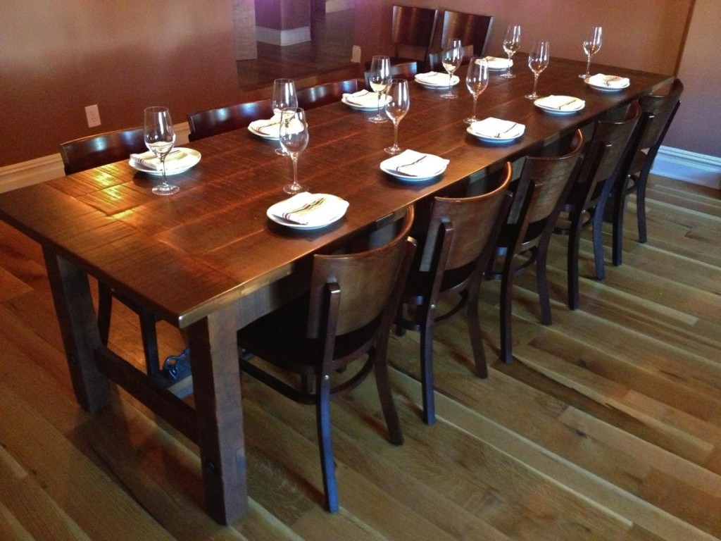 Tasting Table Kitchen Gallery Bar Height Dining Table Set