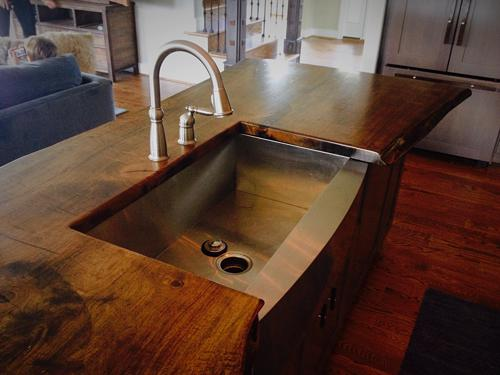 Homemade Kitchen Countertops