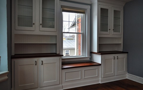 Built-In Cabinetry & Window Seat