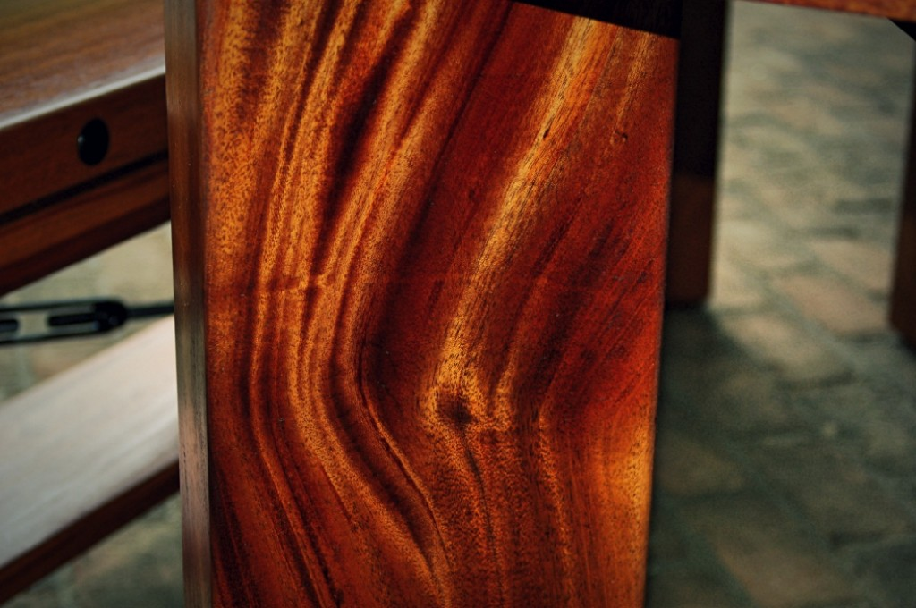African Ribbon Striped Mahogany