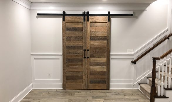Reclaimed Oak Barn Doors