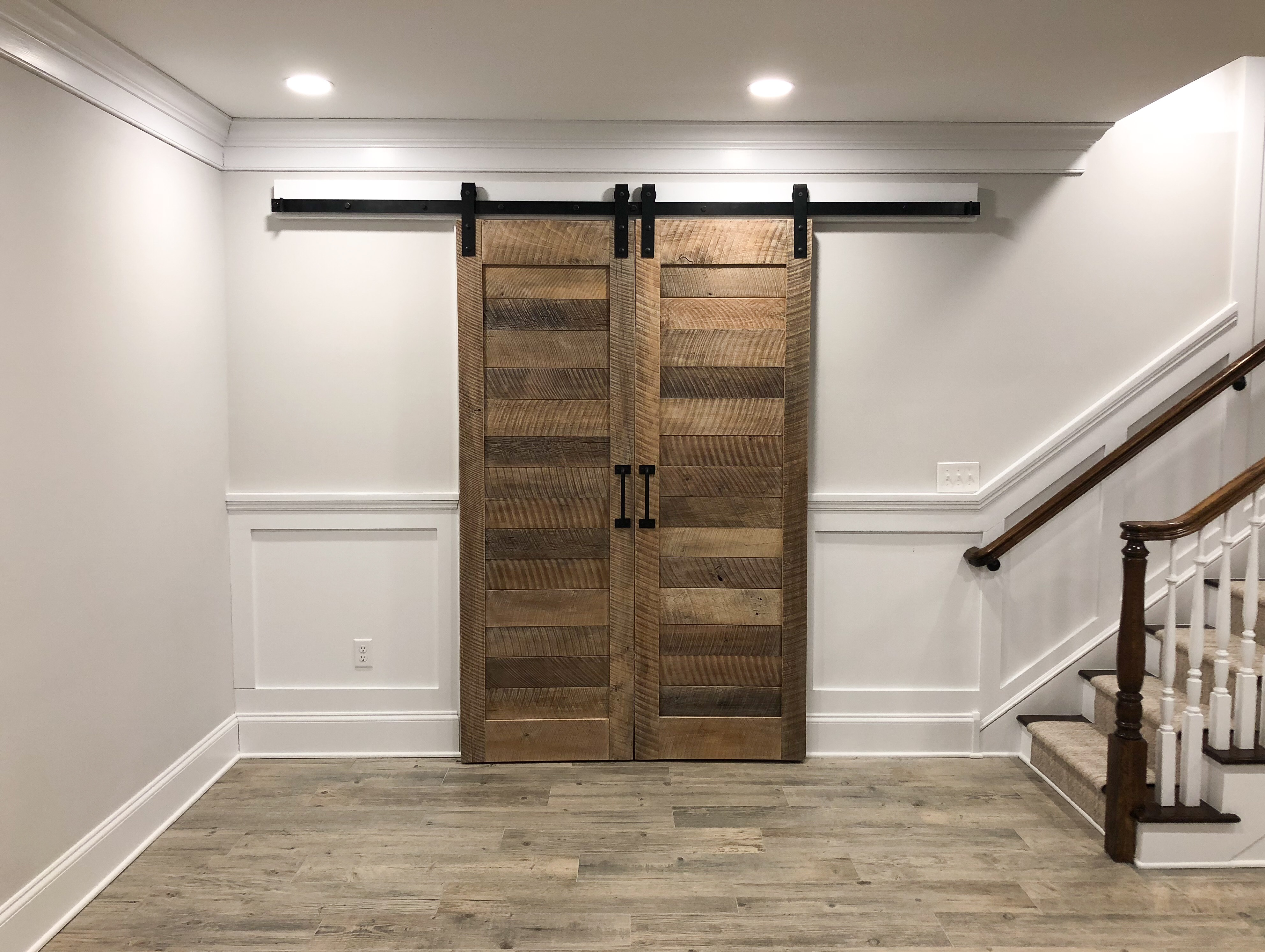 ... Reclaimed Oak Barn Doors Cz Woodworking ...