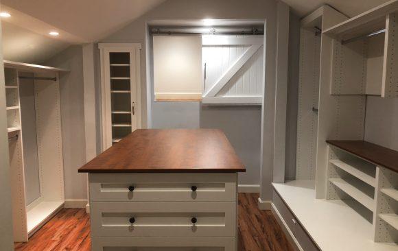Master Walk-in Closet Remodel