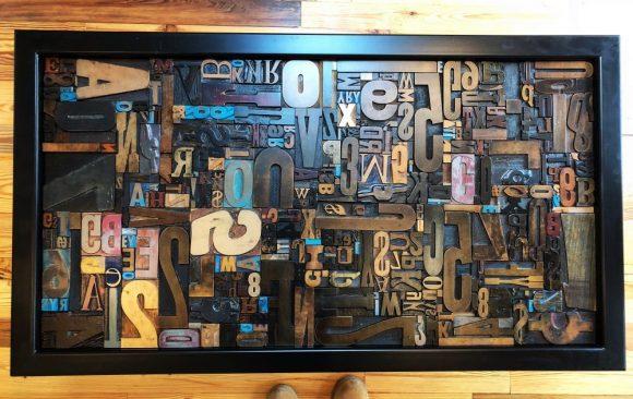 LetterPress Coffee Table