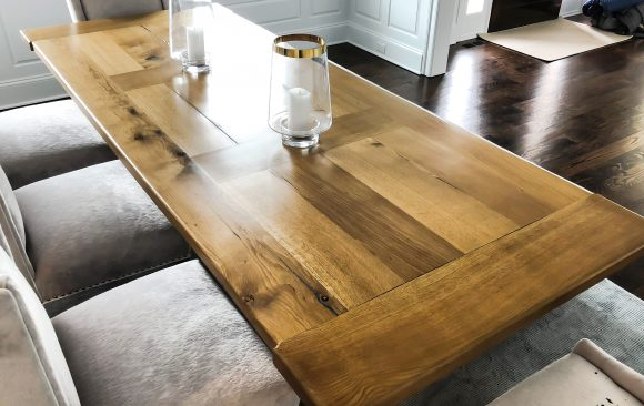 Omega Dining Table & Bench