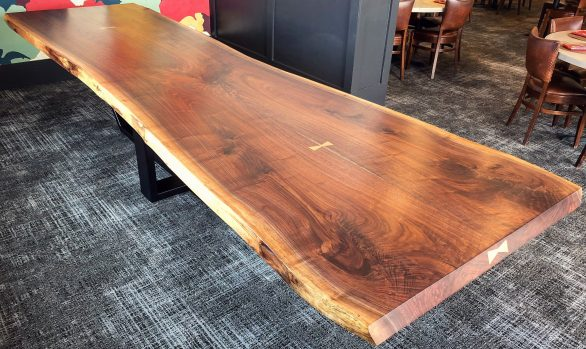 Springfield Country Club Walnut Table