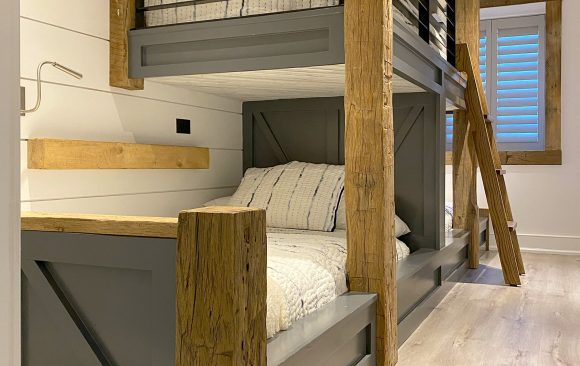 Modern Farmhouse Built-in Beds